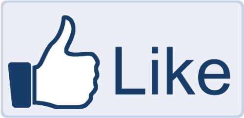 """Фейсбук кнопка """"Мне нравится"""""""