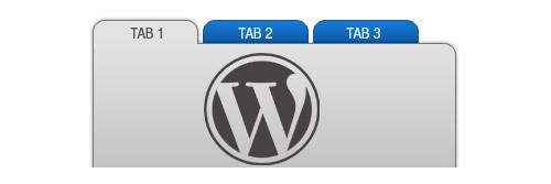 tabs for wordpress