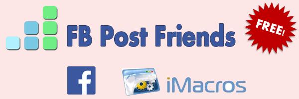 FB Post Friends