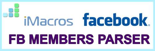 Макрос парсинга участников групп Фейсбук - FB Group Members Parser + Видео