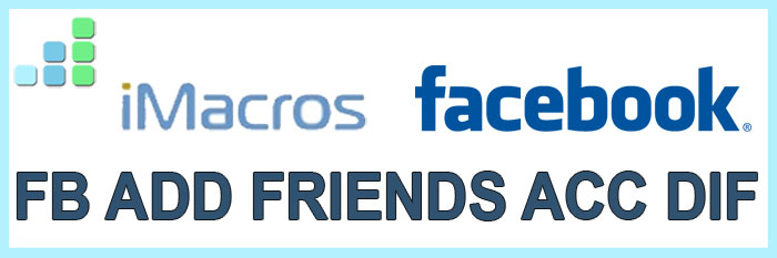 FB Add Friends Acc Dif