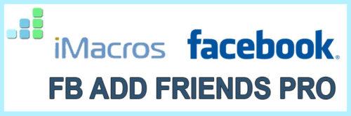 FB Add Friends Pro