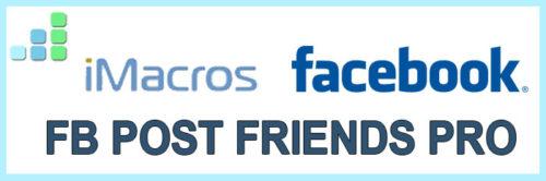 FB Post Friends Pro